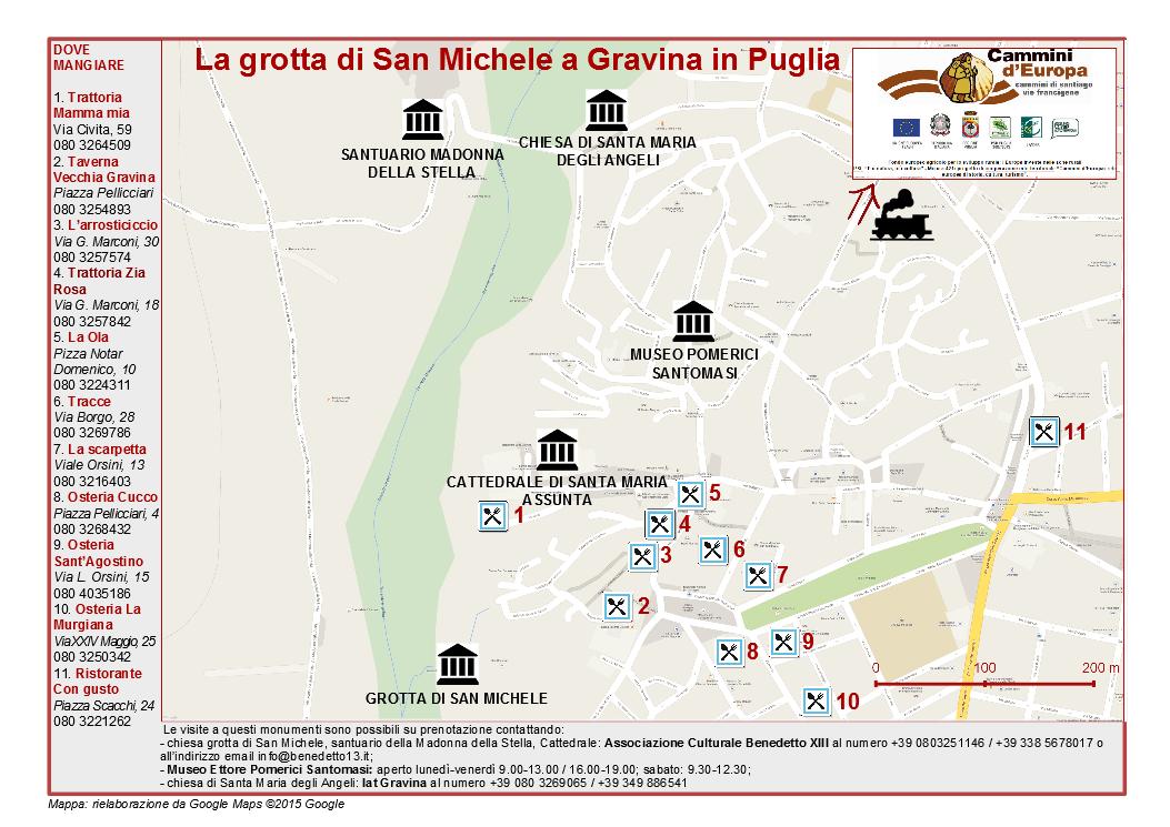 Cartina Di Gravina In Puglia.Una Gita Nelle Murge Lungo La Via Francigena Gal Murgia Piu