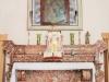 Chiesa di Santa Maria di Costantinopoli (1707), altare in breccia corallina